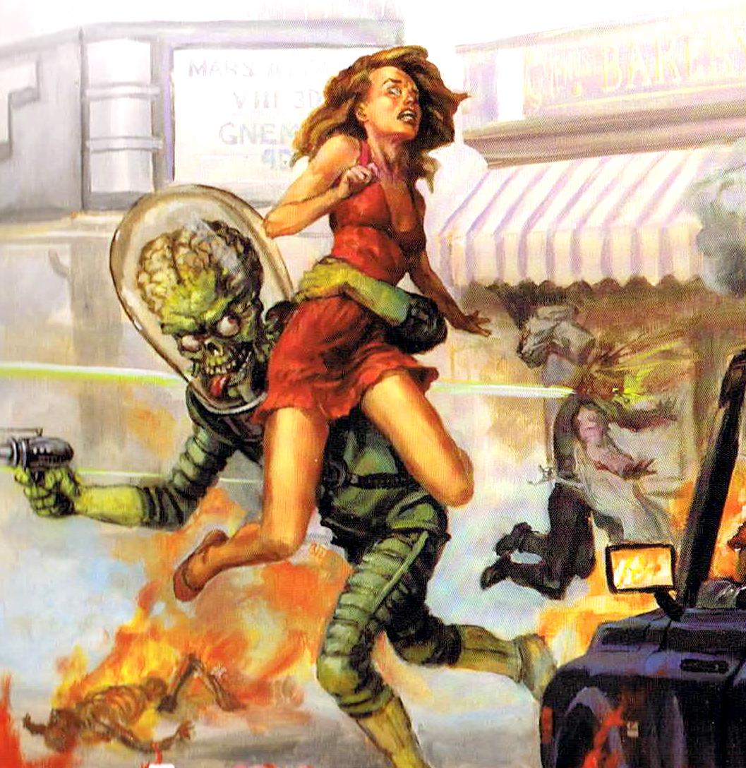 Mars Attacks Spiel