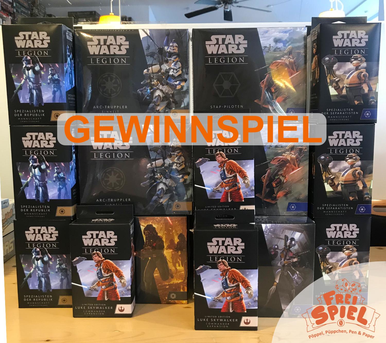 Gewinnspiel FreiSpiel Luke Skywalker